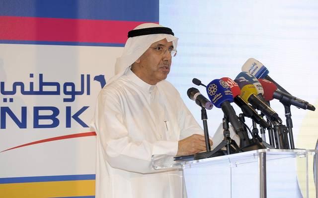 ناصر مساعد الساير، رئيس مجلس إدارة بنك الكويت الوطني