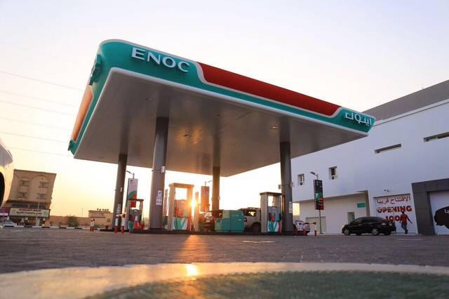 إحدى محطات شركة بترول الإمارات الوطنية (إينوك)