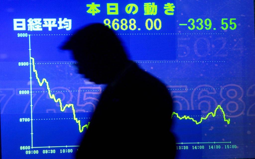 """""""نيكي"""" يتراجع مع تصعيد الأزمة التجارية بين واشنطن وبكين"""