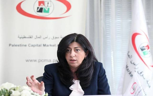 عبير عودة- وزيرة الاقتصاد الوطني الفلسطيني