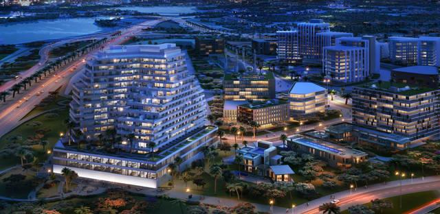 """مشروع """"عزيزي علياء ريزيدنس"""" في مدينة دبي الطبية"""