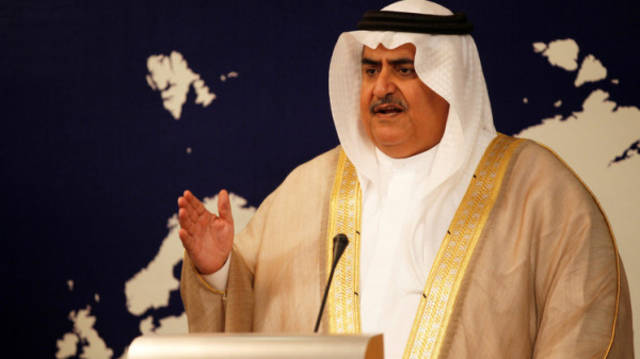 وزير الخارجية في مملكة البحرين - الشيخ خالد بن أحمد بن محمد آل خليفة