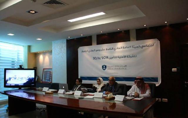 صورة أرشيفية لجلسة مجلس إدارة لشركة سوليدرتي البحرين