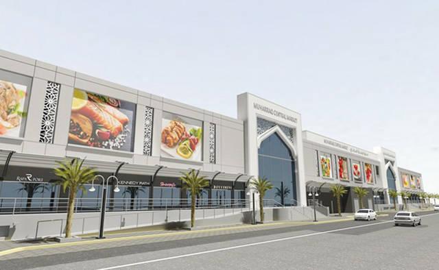رئيس الوزراء البحريني يفتتح سوق المحرق المركزي