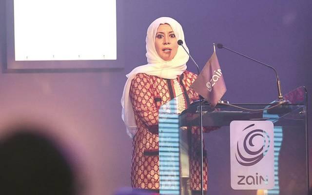 """إيمان الروضان ، الرئيسة التنفيذية في """"زين"""""""