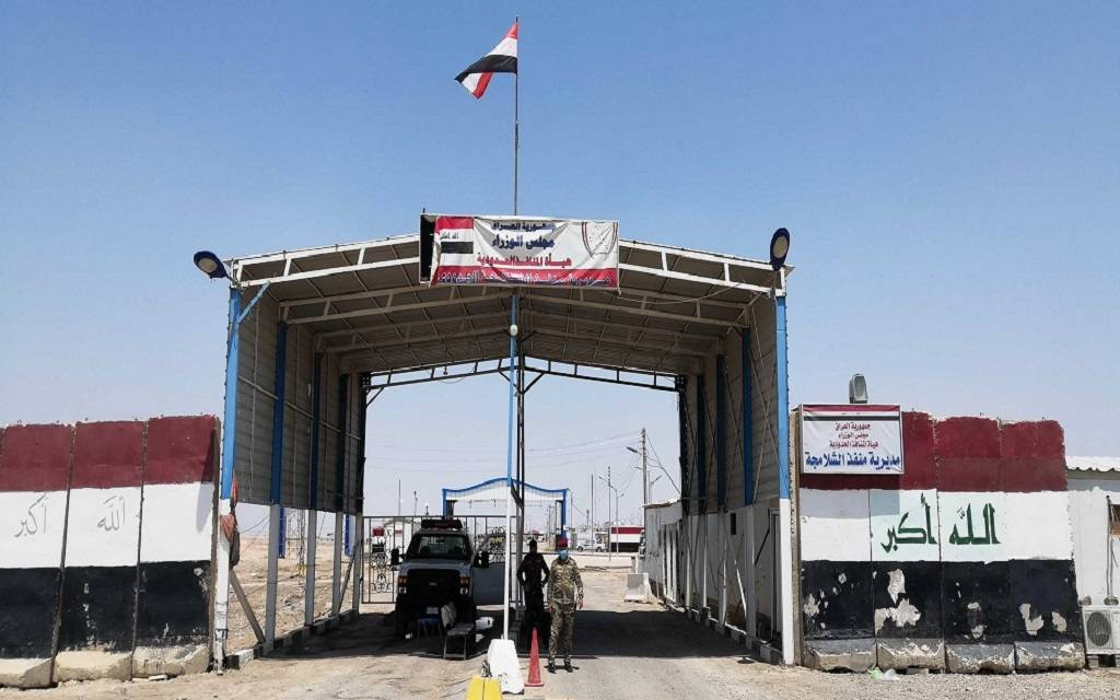 Iraq is taking measures to fully control the border crossings 1024