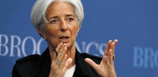 كريستين لاجارد، مدير عام صندوق النقد الدولي،