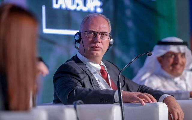 رئيس صندوق الاستثمارات الروسي المباشر كيريل ديميتريف في المنتدى السعودي الروسي بالرياض