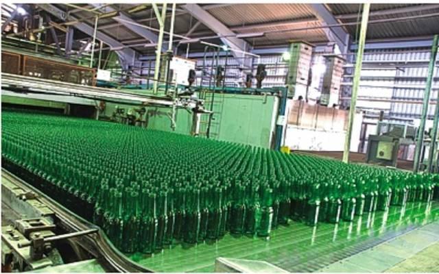 مصنع الشرق الأوسط للزجاج - الصورة من موقع الشركة