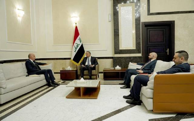 رئيس مجلس الوزراء مصطفى الكاظمي والسفير التركي الجديد لدى العراق علي رضا كوناي