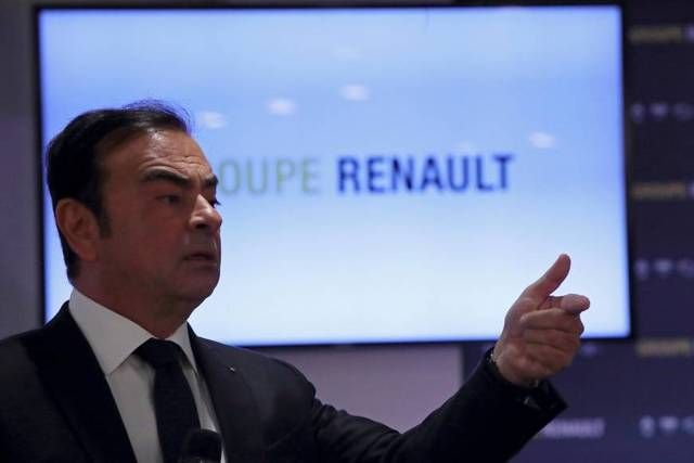 Renault's former boss Ghosn remains director