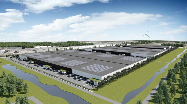The new warehouse will be equipped with world-leading management systems