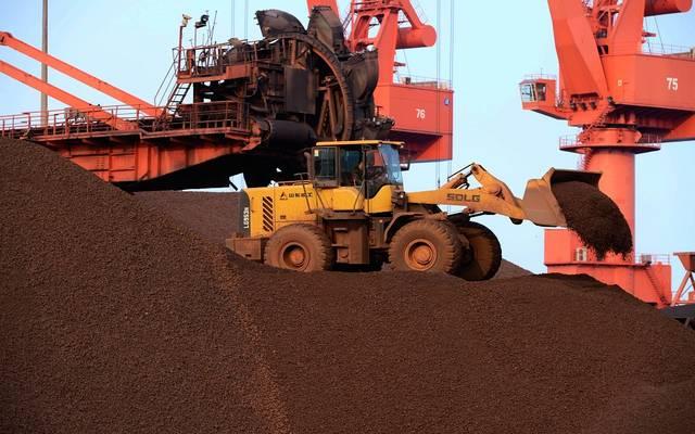 سعر العقود الآجلة لخام الحديد في الصين يرتفع لمستوى قياسي