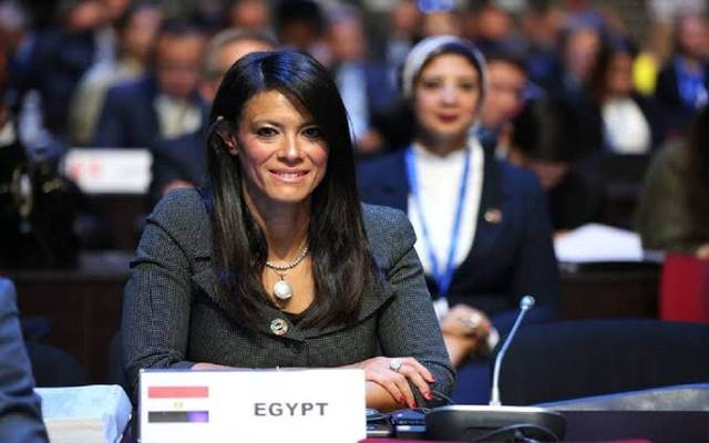 Minister of International Cooperation, Rania El-Mashat