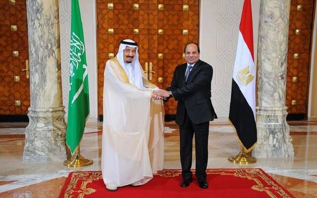 العاهل السعودي الملك سلمان والرئيس المصري عبدالفتاح السيسي - أرشيفية