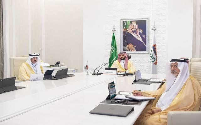 جانب من ترؤس ولي العهد السعودي فعاليات ختام قمة العشرين