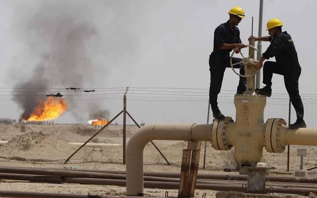 أحد الحقول النفطية