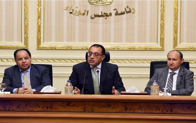 خلال مؤتمراً صحفياً لرئيس مجلس الوزراء للإعلان عن تفعيل البرنامج الجديد لتحفيز الصادرات، وبدء سداد المستحقات المتأخرة