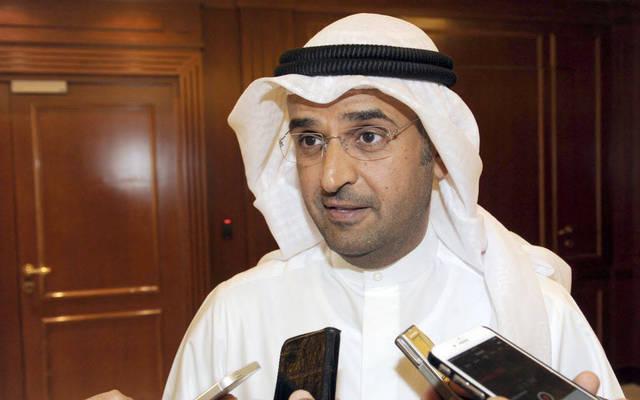 نايف الحجرف وزير المالية الكويتي