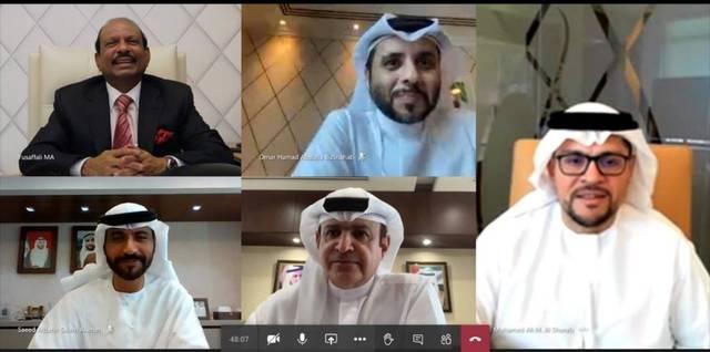 """المشاركون في إطلاق مبادرة """"الإمارات أولاً"""""""