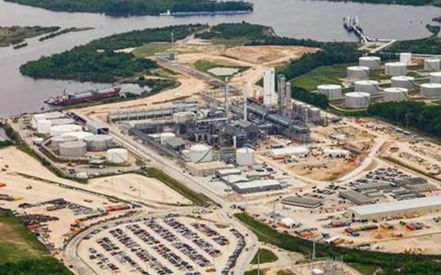 اوراسكوم كونستراشون - مصنع الميثانول في امريكا