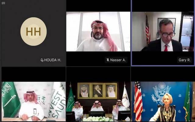 الغرف السعودية تناقش فرص الاستثمار في البنية التحتية مع التجارة الأمريكية