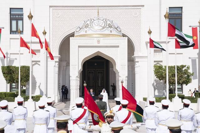 صور.. رئيس قرغيزستان في ضيافة الإمارات