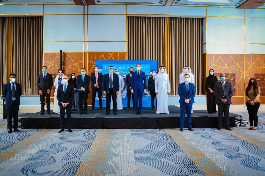 Iraqi Finance and General Electric complete a plan to boost the electric power sector 1024