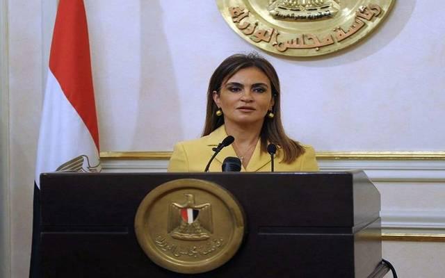 وزيرة الاستثمار والتعاون الدولي ، الدكتورة سحر نصر