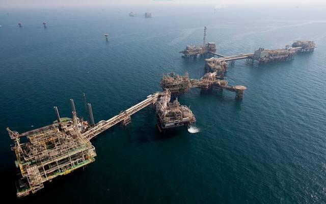 إحدى منصات النفط البحري في العالم
