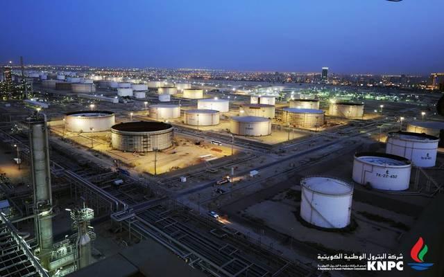 منطقة عمل تابعة لشركة البترول الوطنية الكويتية