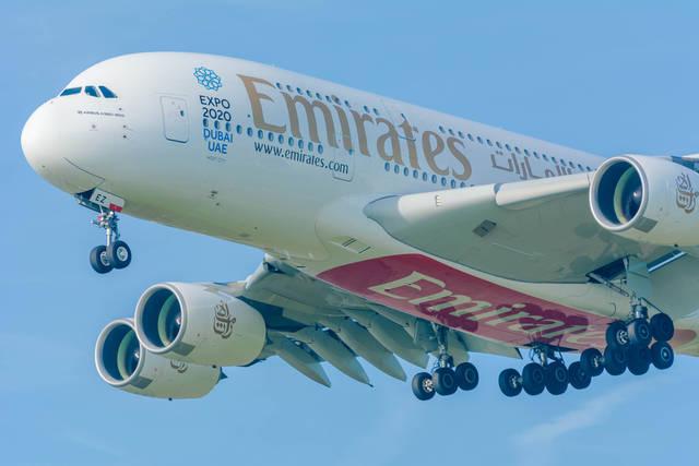 إحدى طائرات طيران الإمارات، الصورة أرشيفية
