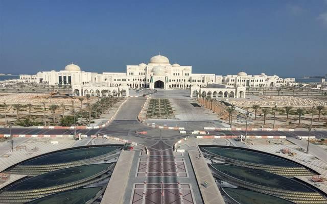 الطريق أمام القصر الرئاسي أحد مشروعات المجموعة المشتركة في الإمارات