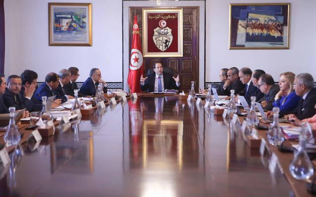 اجتماع سابق للحكومة التونسية الحالية برئاسة يوسف الشاهد