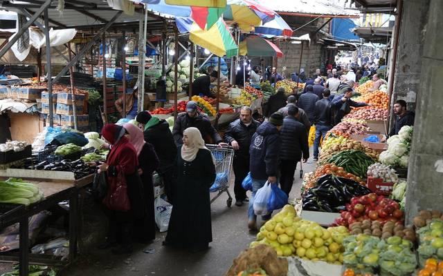 أحد الأسواق الشعبية في مصر