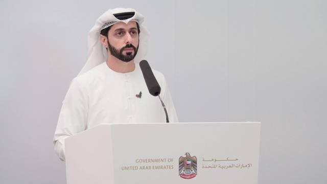 عمر الحمادي، المتحدث الرسمي للإحاطة الإعلامية لحكومة الإمارات