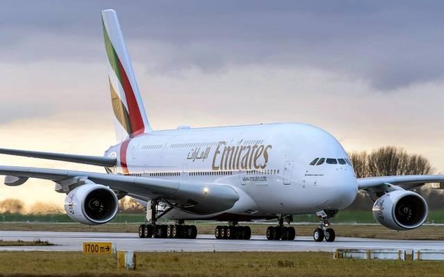 إحدى طائرات طيران الإمارات