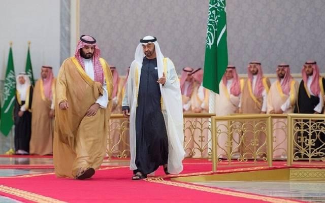 ولي عهد أبوظبي يغادر السعودية بعد زيارة أخوية