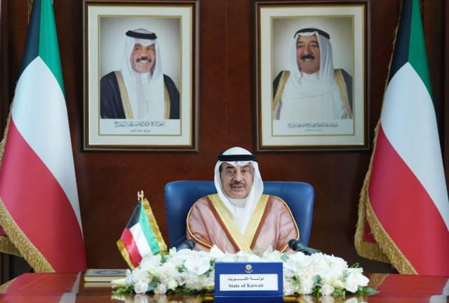 الشیخ صباح خالد الحمد الصباح رئیس مجلس الوزراء الكويتي