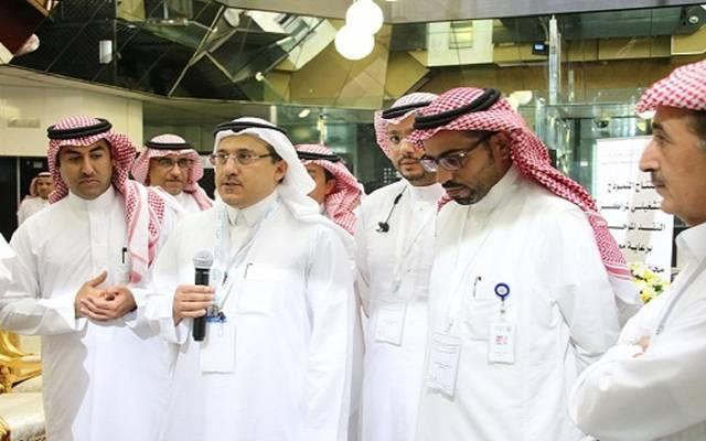 محافظ مؤسسة النقد العربي السعودي الدكتور أحمد الخليفي خلال حفل التدشين