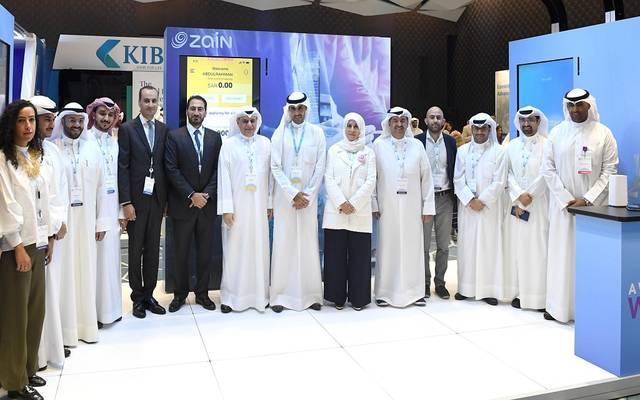 خلال مشاركة زين في معرض التقنيات المالية المُقام على هامش فعاليات المؤتمر المصرفي العالمي