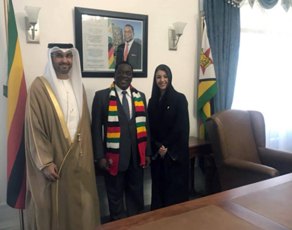 تعاون بين الإمارات وزيمبابوي في الاستثمار والطاقة والضرائب