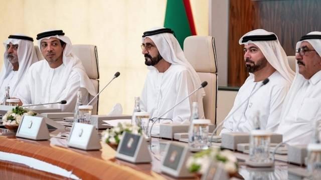 اجتماع سابق لمجلس الوزارء الإماراتي