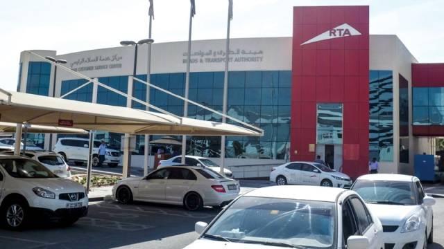 """سيارات في أحد المزادات السابقة لـ""""طرق دبي"""""""