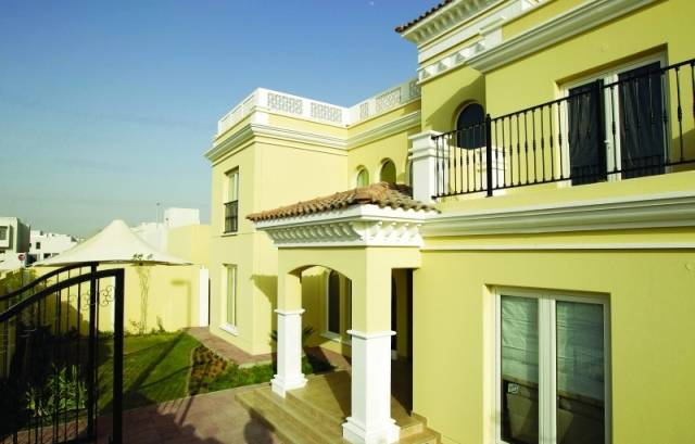 أحد مشاريع هيئة أبوظبي للإسكان