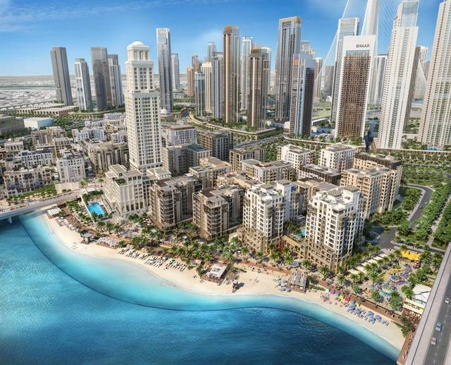 Emaar selects SSH as lead consultant for Creek Beach District