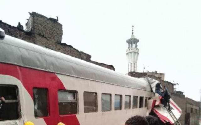 حادث قطار في مصر ـ أرشيفية