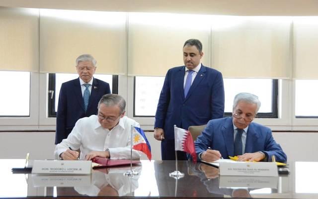 خلال توقيع وزارة الخارجية القطرية ونظيرتها مذكرة التفاهم