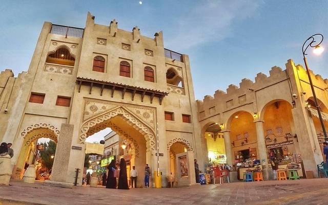 أحد المزارات السياحية بالمملكة العربية السعودية