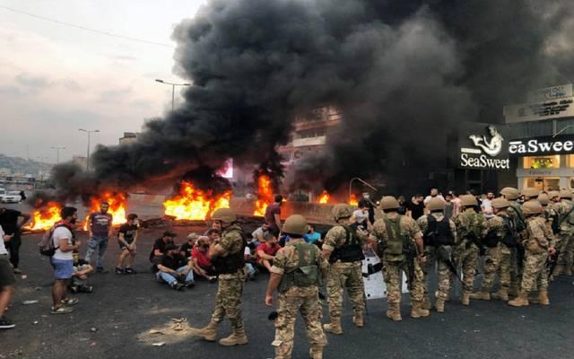 الأحداث في لبنان